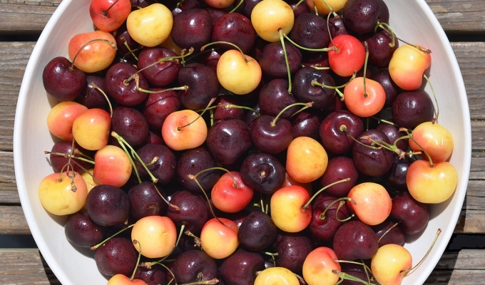 THE FOOD SERIES: Cherries