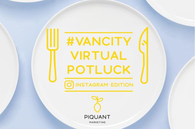 #VancityVirtualPotluck