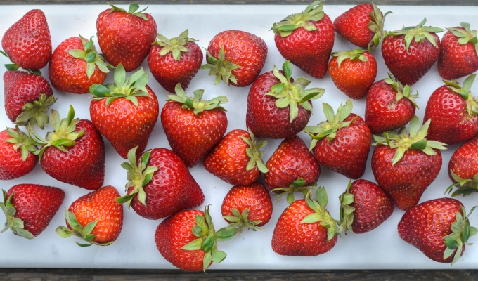 THE FOOD SERIES: Strawberries