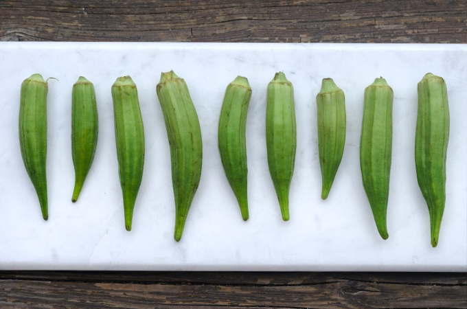 THE FOOD SERIES: Okra