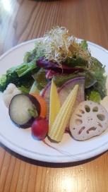 Seasonal Raw Salad
