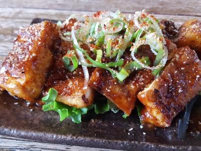 Charcoal-Grilled Deep Fried Tofu